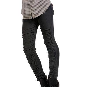 PRAIRIE UNDERGROUND Ruched Glove Legging Size Med